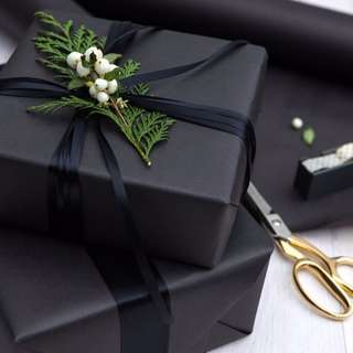 [INSTOCK] Assorted Black Wrapping Paper