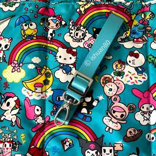 0.75 inch teal blue seat belt strap for Jujube