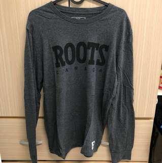 Roots長袖上衣