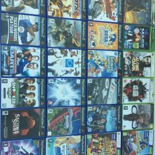 Ps2 games,Xbox 360 games