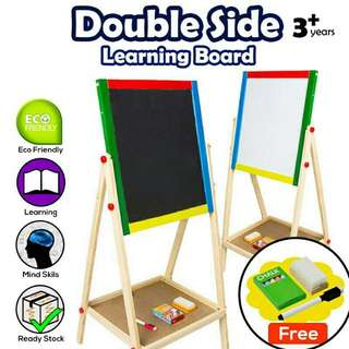 🔥#2 in 1 Writing Drawing Magnetic Adjustable Board🔥