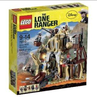 Lego Lone Ranger 79110 Silver Mine Shootout