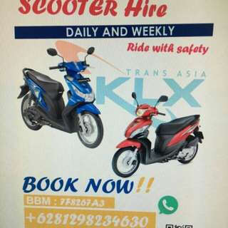 Motorbikes rent in Batam