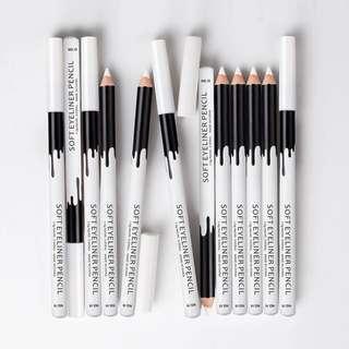 Authentic Menow white eyeliner pencil