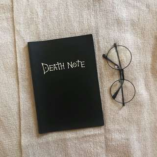 Death note book cover
