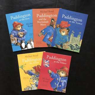 💥 NEW - Paddington Collection Set of 5 books - Children story books