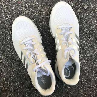 Authentic Adidas NEO Cloudfoam Metis (White) Sporty Sneakers