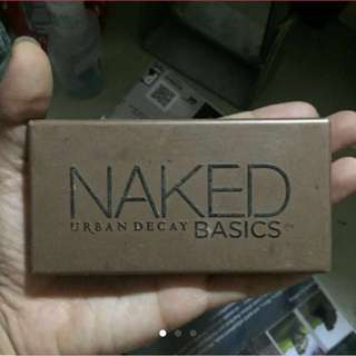 Authentic Urban Decay Naked Basics palette