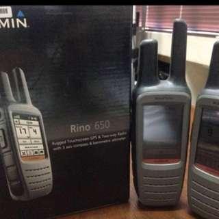 Garmin Rino 650 Nego (GPS Navigator and Radio In One)