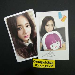 [FREE SHIPPING] TWICE Likey Tzuyu Photocard
