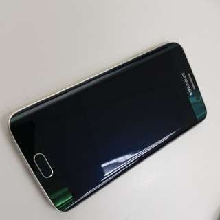 "Preowned Samsung Galaxy S6 edge ""Rare"" Green"