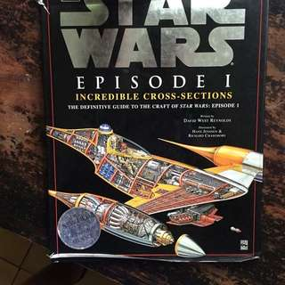 star wars episode 1 crafts - incredible cross-sections book