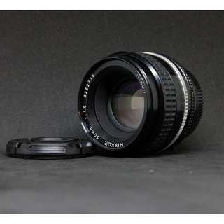 Nikon Nikkor AIS 50mm f/1.8 Lens (Long Version. Long Version!)