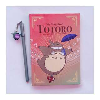 My Neighbor Totoro Notebook with pen