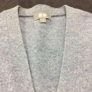 Uniqlo blue cardigan size S