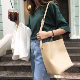 BNIP Dulce Shoulder Bag In Nude (FREE NORMAL MAIL)
