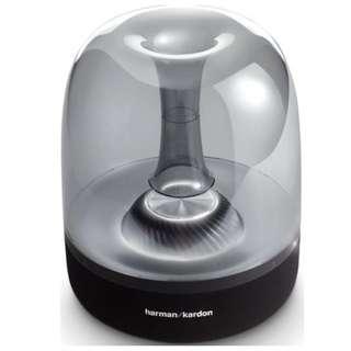 Harman Kardon Aura Studio 2 Black Speaker Brand New