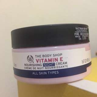 [PRELOVED] The Body Shop Vitamin E Night Cream