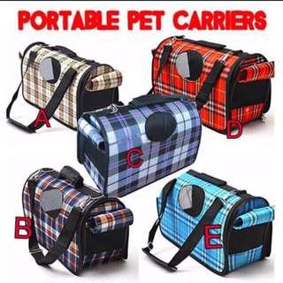 TPE007 Pet Carrier Bag for Small Animals Cat Dog Bird