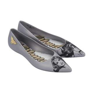 🍀 *Instock* Melissa Glam + Wonder Woman Silver US 8 & 10 Limited Edtion! (FREE DOORSTEP DELIVERY!)