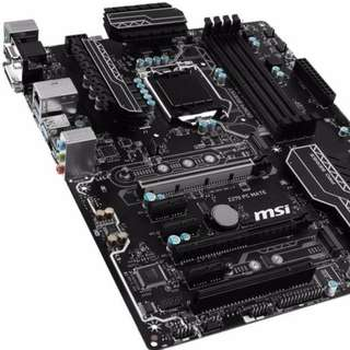 BNIB Brand New Sealed MSI Intel Z270 Motherboard PC Mate LGA 1151 Mobo