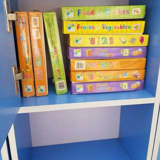 Children's Books Flash cards