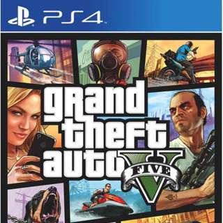 PS4 GTA V/5