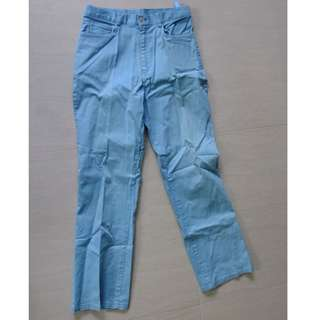 Turquoise Blue Trousers