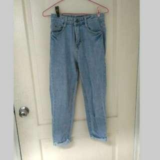 🚚 淺藍男友褲 #我的女裝可超取
