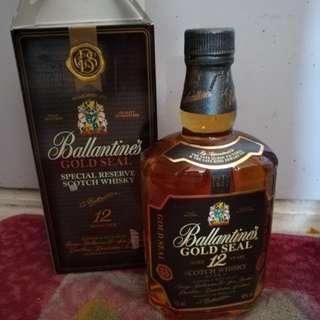 百靈壇12年威士忌舊酒70cl連盒