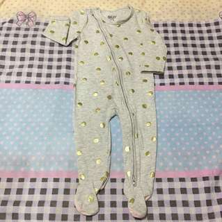 Preloved cotton on baby Frogsuit