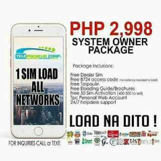 Eloading Business 1 sim all network