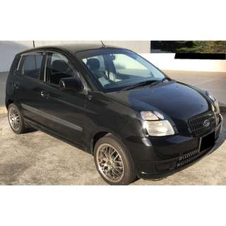 Kia Picanto 1.1M For Long Term Car Rental