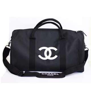 全新 NEW【CHANEL】VIP GIFT 會員禮品 手提旅行袋可斜咩 Travel Bag 男女合用