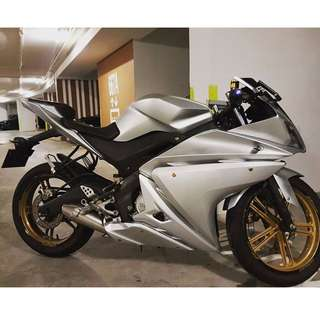 Yamaha R125 '10 Model for Sale [ YZF R125 ]