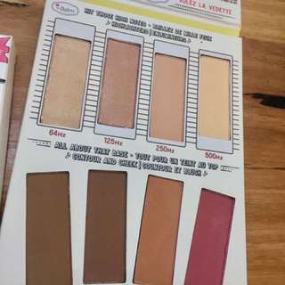 TheBalm highlight and contour palette