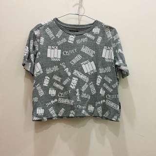 🚚 Izzue短版潮流T恤