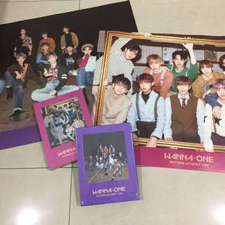[READY STOCK] WANNA ONE - Nothing Without You (1-1=0) Album