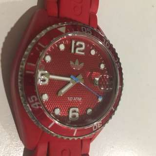 Adidas watch red