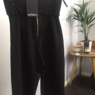 Zachary culottes black