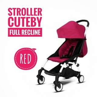 STROLLER CUTEBY (FULL RECLINE)