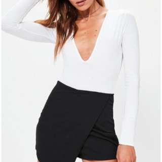 !Missguided black skort!