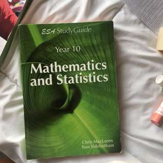 Yr10 mathematics and statistics study guide