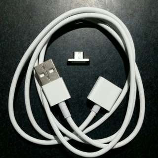 Magnetic Micro USB Quick Charging Cable for Android