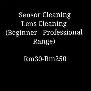 Cleaning for Camera and Lens