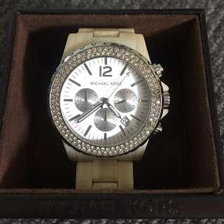 Genuine Michael Kors Ceramic Swarovski crystal watch