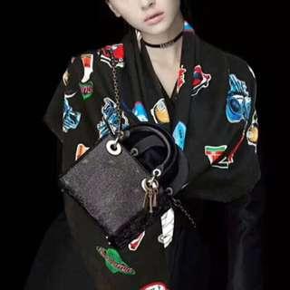 最美LV黑色有料高工藝羊絨頸巾披肩