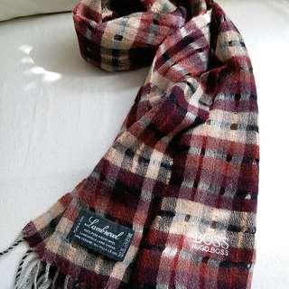 HugoBoss Vintage Scarf 頸巾 圍巾