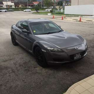 Mazda Rx8 1.3L(A) Rotray.  Status Singapore