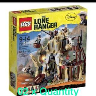 Lego 79110 The Lone Ranger - Silver Mine Shootout